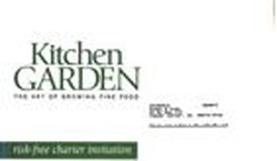 Kitchen Garden - Envelope