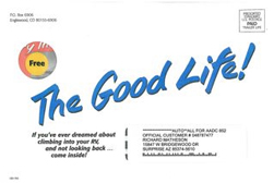 The Good Life - Envelope