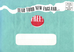 New England Monthly #3 - Envelope